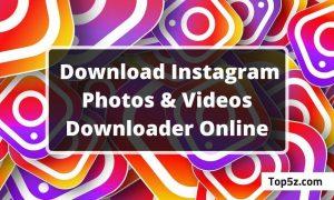 Download Instagram Photo & Video Online